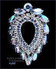 SARAH COVENTRY � BLUE RHINESTONES PIN