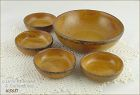 McCOY POTTERY � CANYON BERRY OR NUT BOWL SET