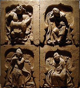 Elegant song  dynasty tile