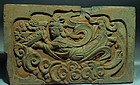 Very rare song dynasty brick with feitian buddha