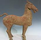 Han dynasty dragon head horse