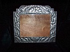 Matl Style Repousse Large Mexican Silver Picture Frame