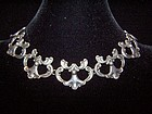 Margot de Taxco  Design  5513 Vintage  Silver Necklace