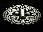 Rafael Dominguez Vintage Mexican Silver Brooch Pin