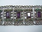 Matilde Poulat Vintage Mexican Silver Matl Bracelet