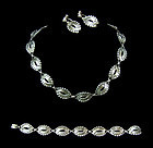 Hector Aguilar Mexican Silver Necklace Er's Bracelet
