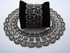 Old Dominguez Mexican Silver Necklace and Bracelet Set