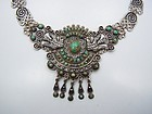 Matl Matilde Poulat Vintage Mexican Silver Palomas Necklace Old
