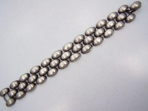 William Spratling Snap Over Vintage Mexican Silver Bracelet