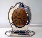 American Art Deco Sterling Clock, Reed & Barton, C.1920