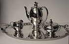 Danish Sterling Coffee Service C.1930  Evald Nielson