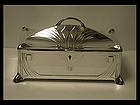 WMF Jugendstil Secessionist Silver plate large Box