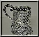 Antique Victorian Silver Mug, London 1863 Robert Harper