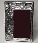 Art Nouveau Antique Silver Photograph Frame, 1906