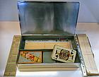 Rare Bridge Box WMF Art Deco Silver plate, Germany C.19