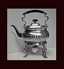 English Silver Kettle London 1895, Hukin Heath 42.75 oz