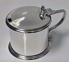 Large Silver Mustard Pot, London 1881, E.C.Brown
