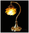 Art Nouveau French Desk Lamp, C.1910