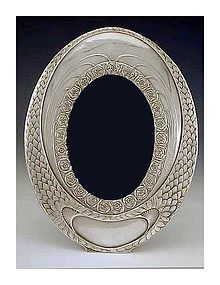 W.M.F Art Nouveau Silver Plate Frame, Germany C.1910