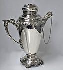 Fine Silver Cocktail Shaker, Birmingham 1928, Turner & Simpson.