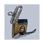 Rare combination Silver Vesta Locket, Birmingham 1903 C & Co