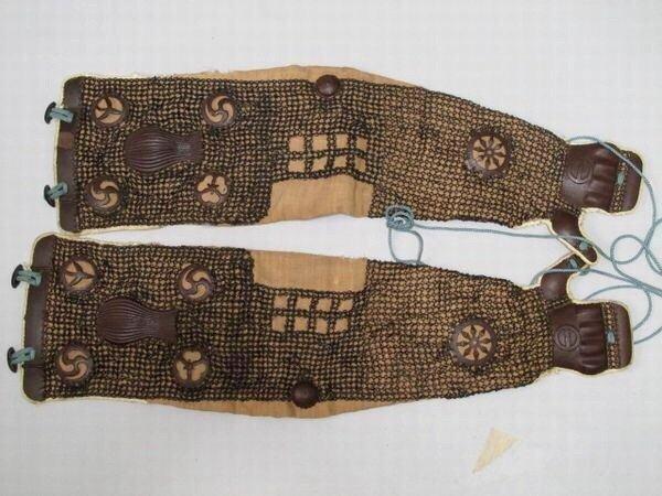 Fine samurai Kote, arms chainmail armor .Edo period