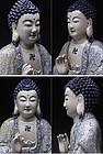Rare Porcelain Buddha Figure
