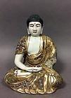Fine Porcelain Budddha Sculpture, 1890-1920