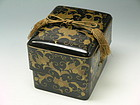 Japanese Makie Tebako (Accessory Box) Edo Period
