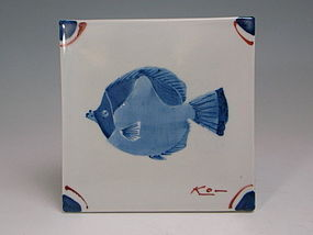 Decorative Tile by Takita Koichi