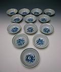 Antique Chinese Porcelain Bowl Set
