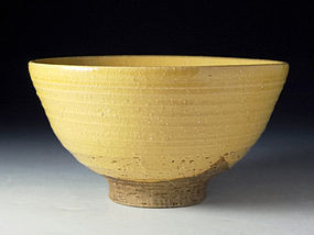 Edo Period Ki-irabo Chawan