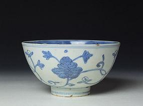 Ming Dynasty Porcelain Ko-sometsuke Bowl