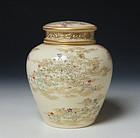 Meiji Period Satsuma Pot