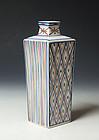 Tomisen Porcelain Vase (Tomimoto Kenkichi LNT)