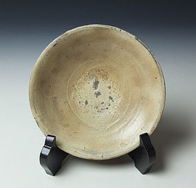 Antique Korean Hakeme Dish (a)
