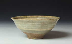 Antique Korean Hakeme Bowl (b)