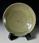 Antique Vietnamese Celadon Platter