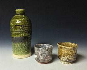 Tokkuri and Guinomi Set by Koie Ryoji