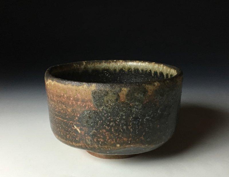 Bizen Chawan by Yamamoto Izuru