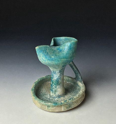 Antique Persian Oil Lamp