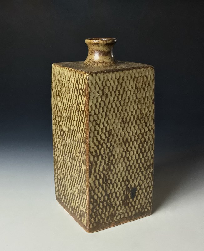 Large Jomon Zogan Kata-tsubo by Shimaoka Tatsuzo