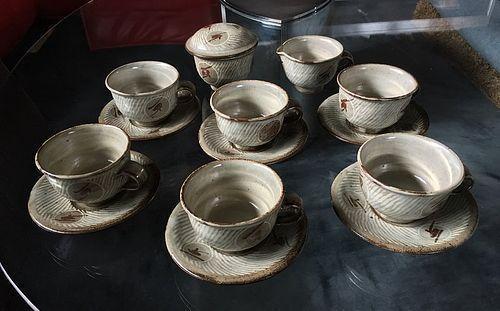 Coffee Set by Shimaoka Tatsuzo