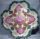 Handpainted MORIAGE CHRYSANTHEMUMS DRESSER TRAY c1880s