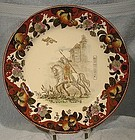 Royal Doulton DON QUIXOTE THE BLANKET TOSSING PLATE