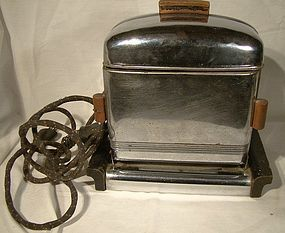 CHISOLM MODEL C1 FLIP DOWN TOASTER c1930