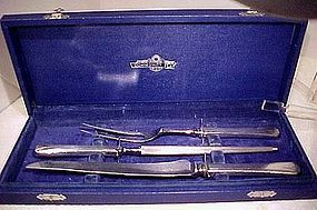 International DEAUVILLE SP 3 PC. CARVING SET in BOX