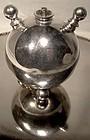 Unusual Silverplate CIGAR TABLE LIGHTER c1880