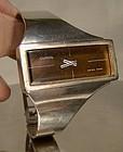 CONSUL STERLING MODERN WRISTWATCH c1970