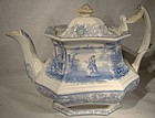 Scarce ADAMS ISOLA BELLA IRONSTONE TEAPOT c1860